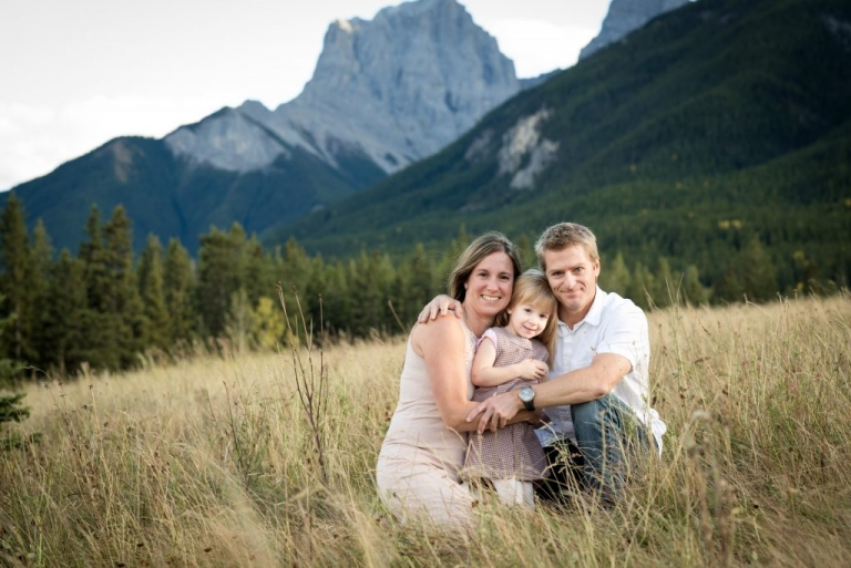 rocky mountain family photo session