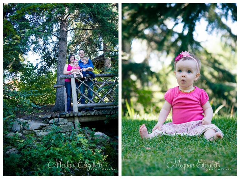 Family Photos at Reader Rock Garden