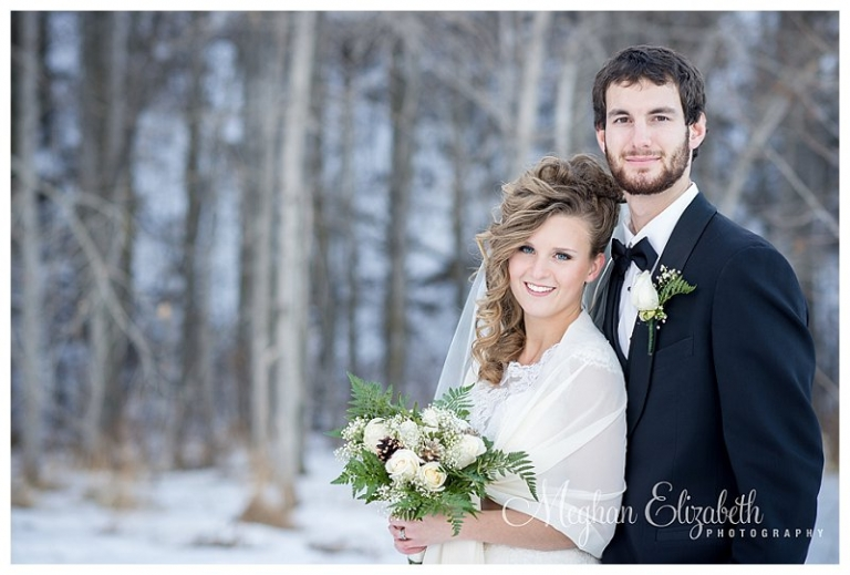 Winter Wedding Photos Calgary