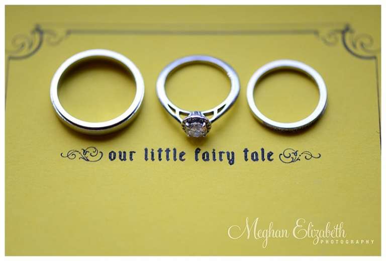 Wedding Rings Photo Fairy Tale