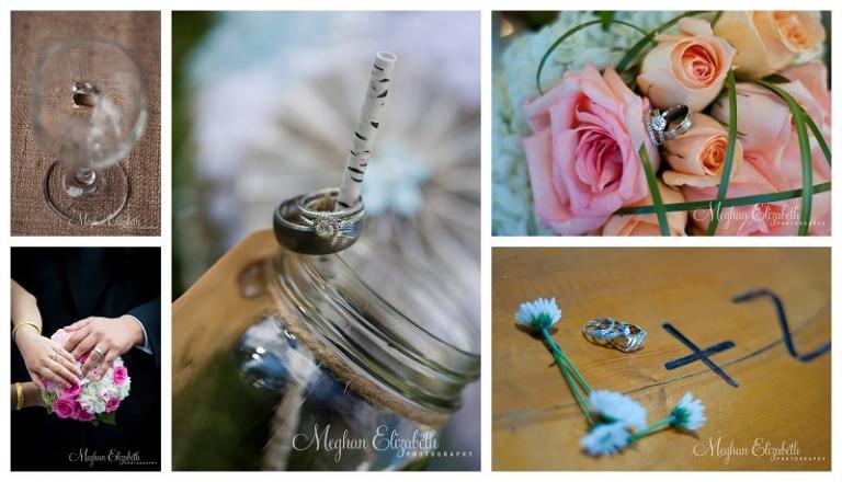 Wedding Rings Photo Flowers