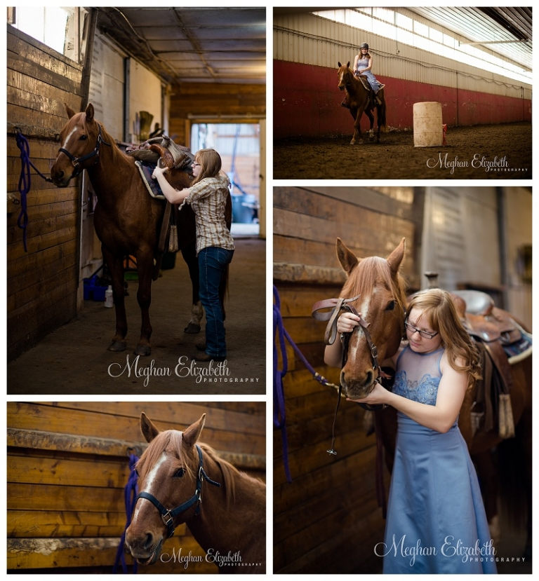 Portraits with horse Calgary