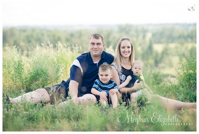 Fish Creek Park Family Photos