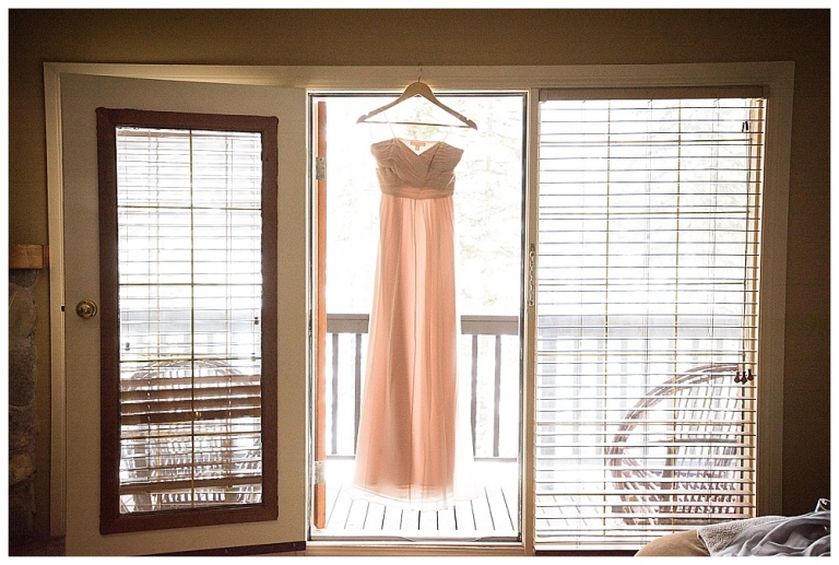 Emerald Lake Lodge Wedding Dress
