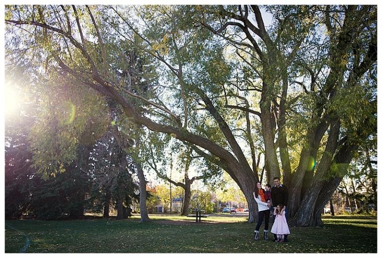 Riley Park Calgary Family Photoshoot