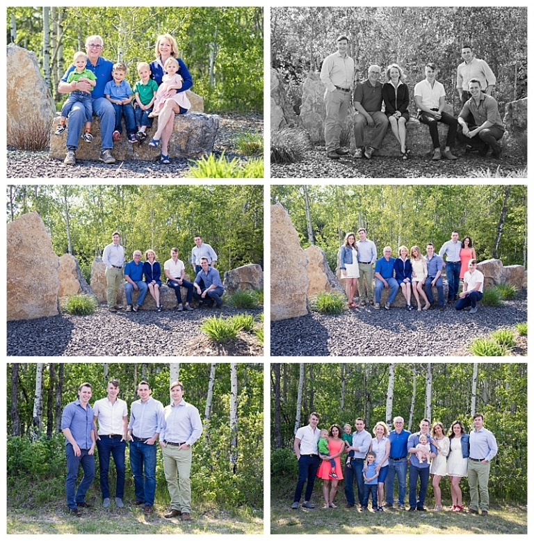 Calgary Extended Family Photos