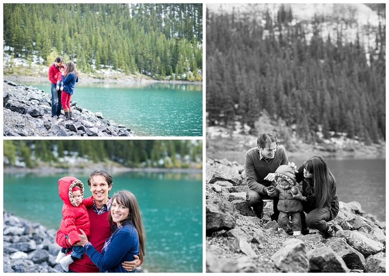 Canmore Family Photos by Spray Lakes by Meghan Elizabeth Photography