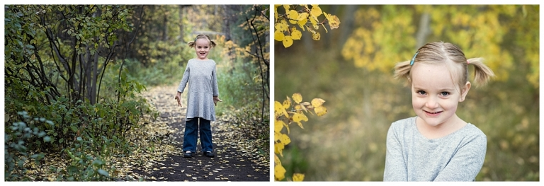 joyful Calgary Fall Family Photoshoot
