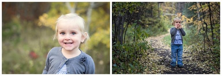 Calgary Fall Family Photos of sisters